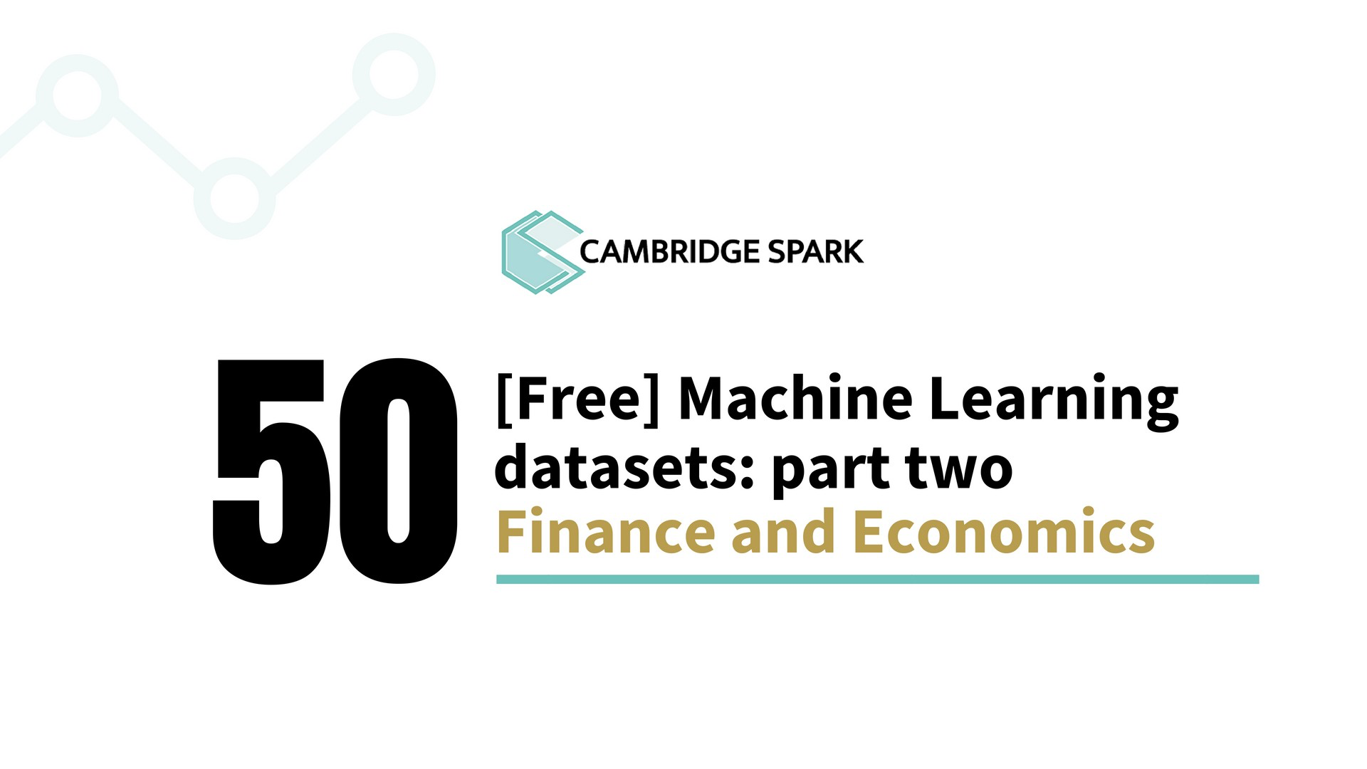 50 free Machine Learning datasets: finance and economics