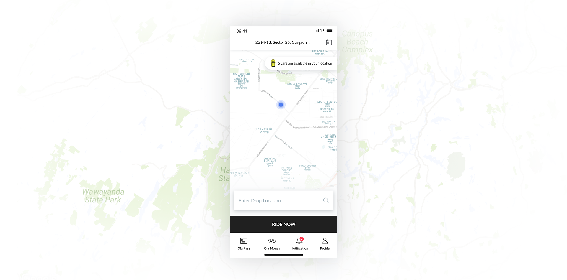 Ola Cabs- Redesign concept - UX Collective