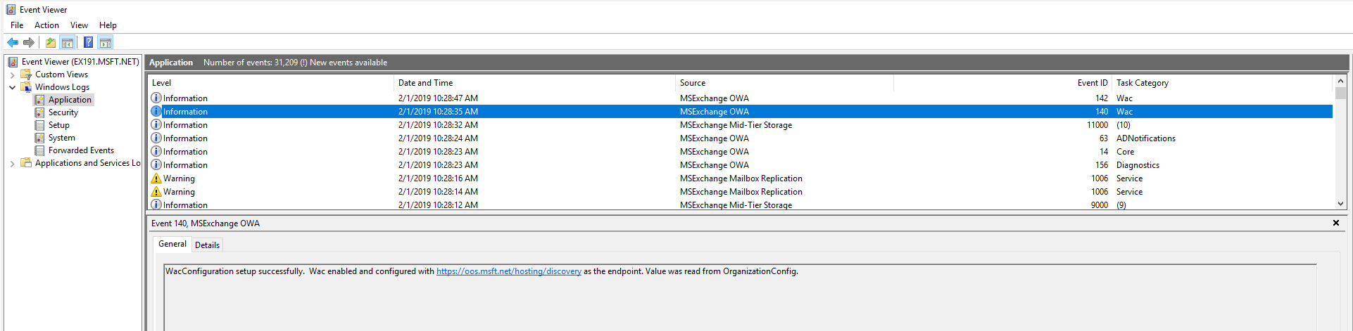Installing & configuring Office Online Server with Exchange