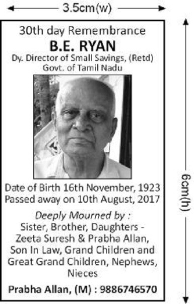 Book Daily Excelsior Obituary Ads With Top Agency in Jammu