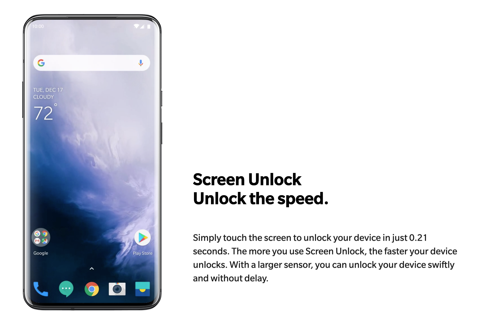 a photo of a OnePlus 7 Pro smartphone