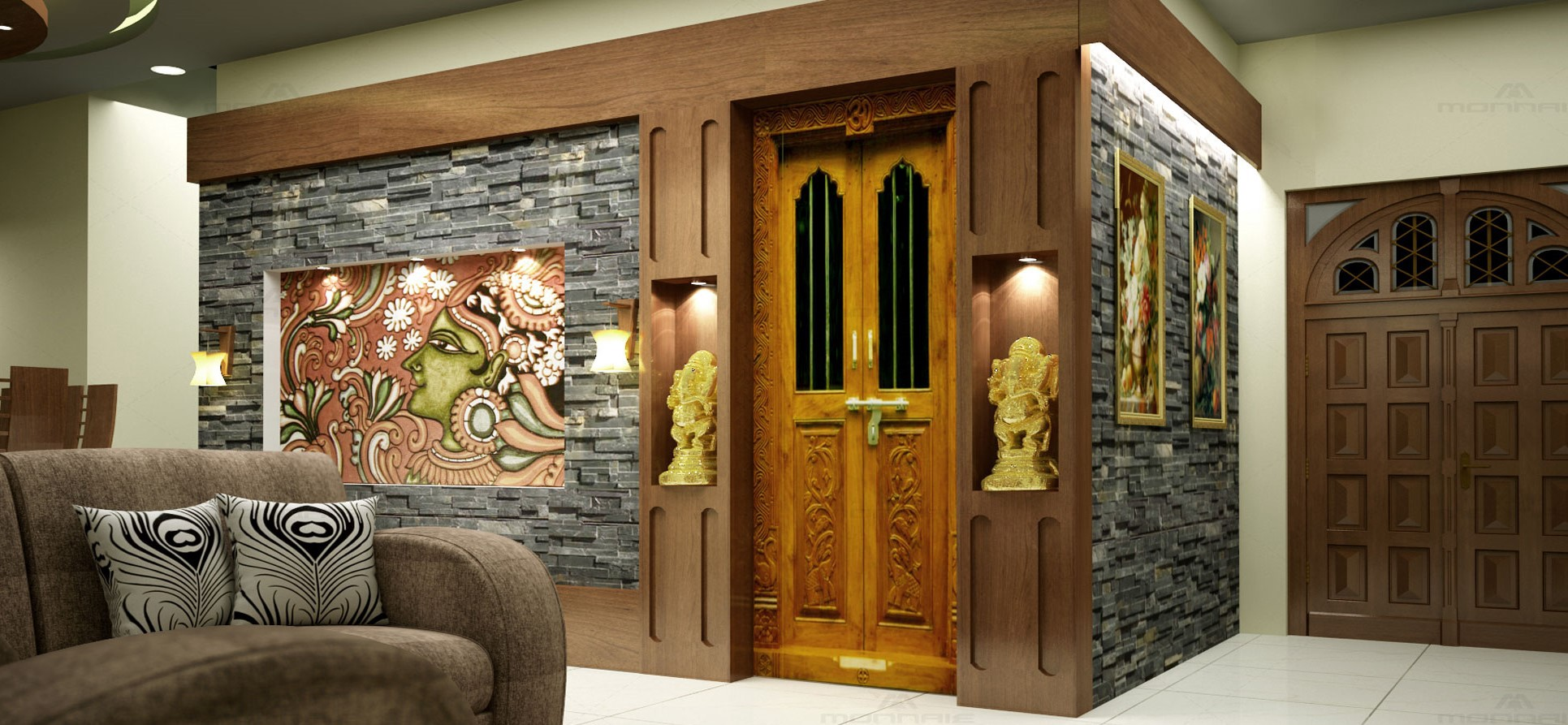 Top 4 Pooja Unit Designs For Your Indian Home Decor By Unplan Social Medium