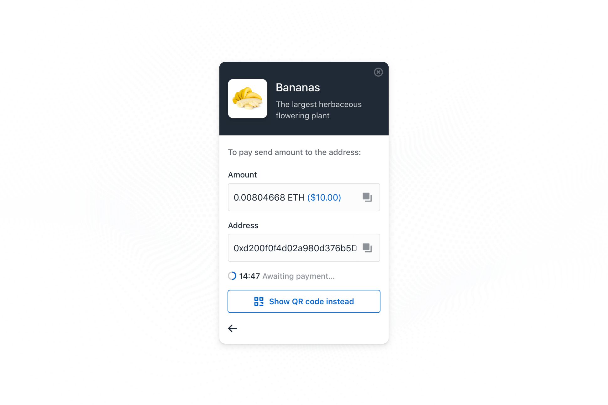 How to Accept Cryptocurrency on your Website with Coinbase