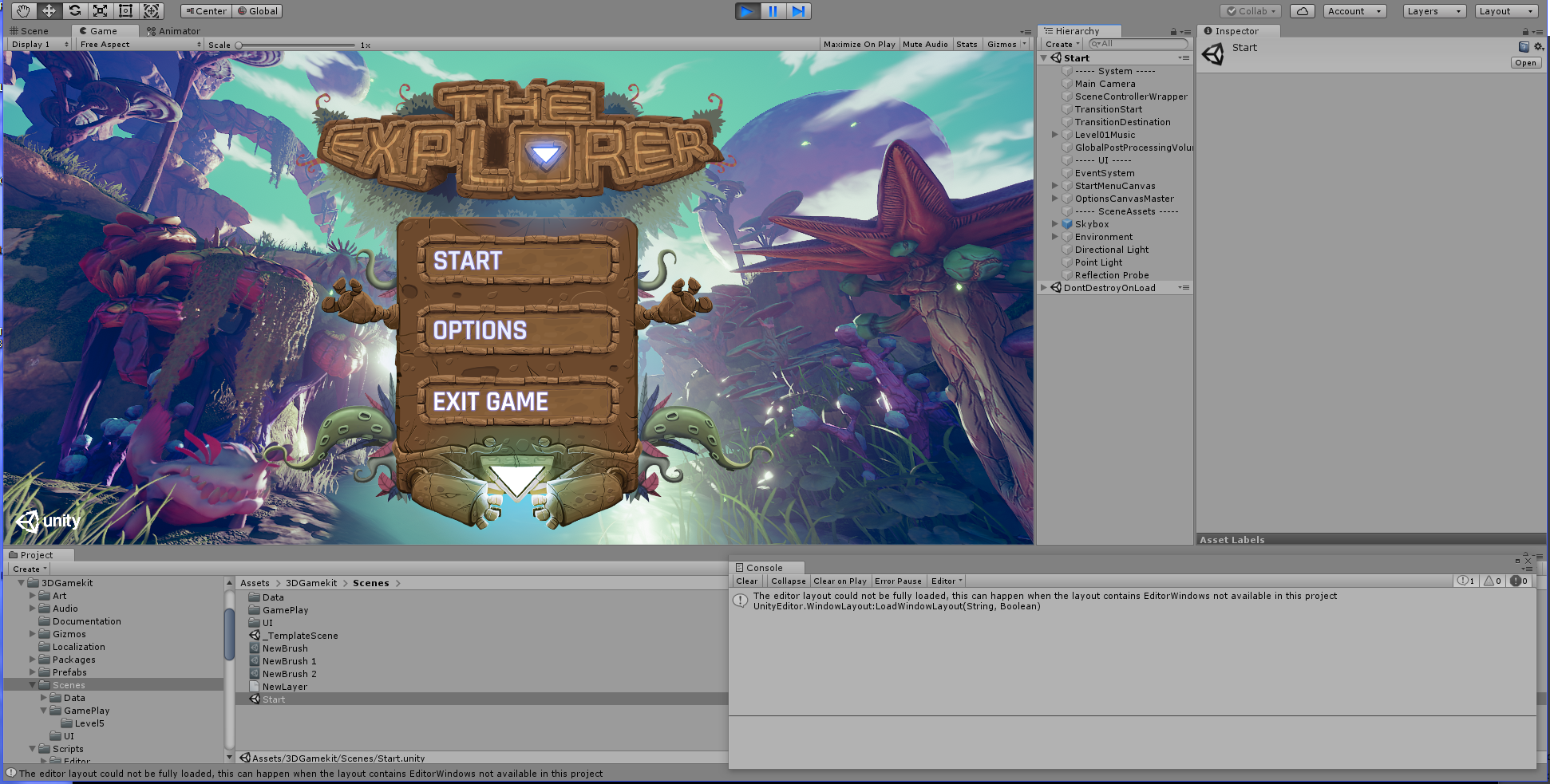 What To Do First — Getting Started Using The Unity 3D Game Kit