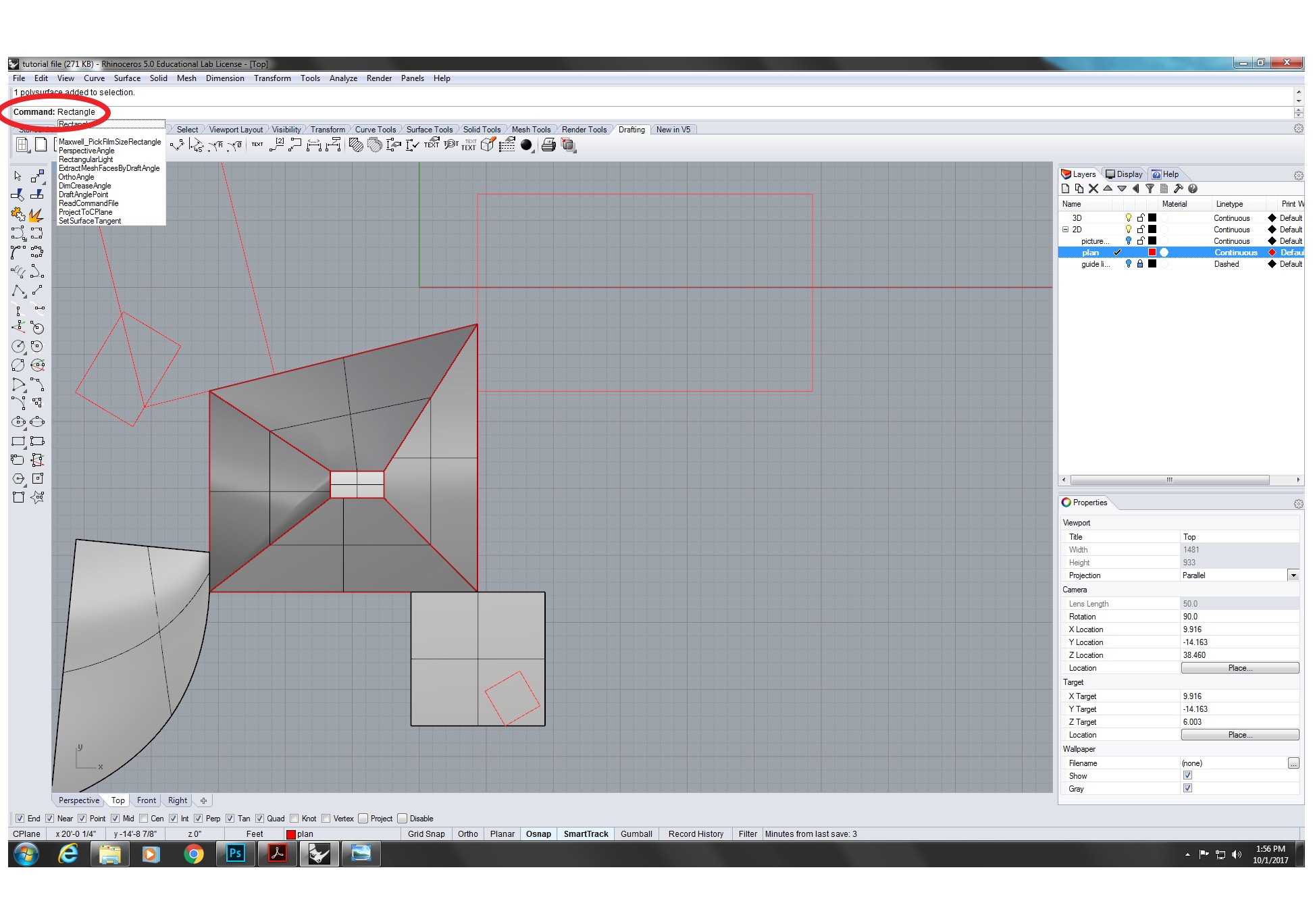 Using 2D to 3D method to create solid 3D objects and