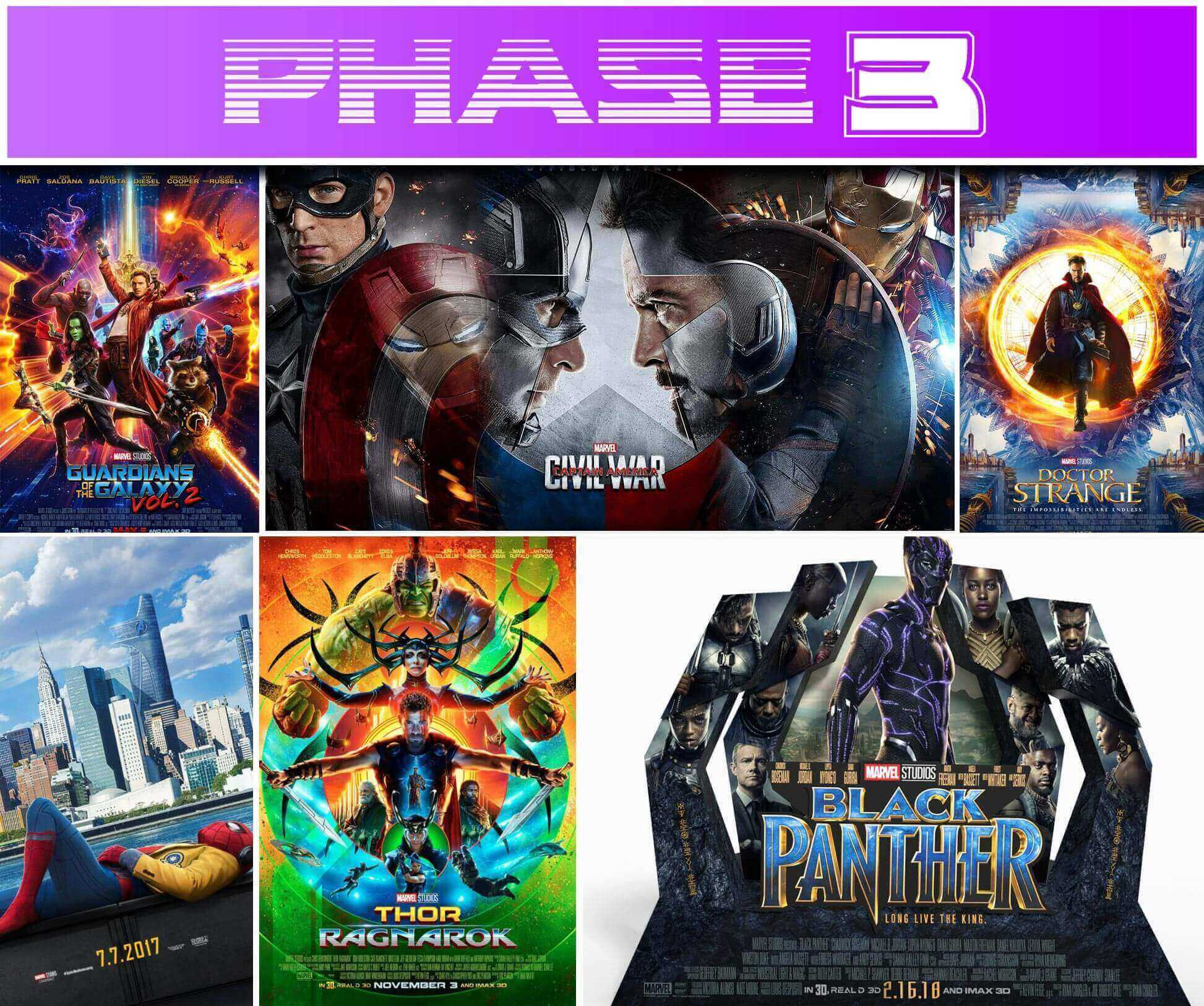 The Visual Guide to the Marvel Cinematic Universe : Phase 3