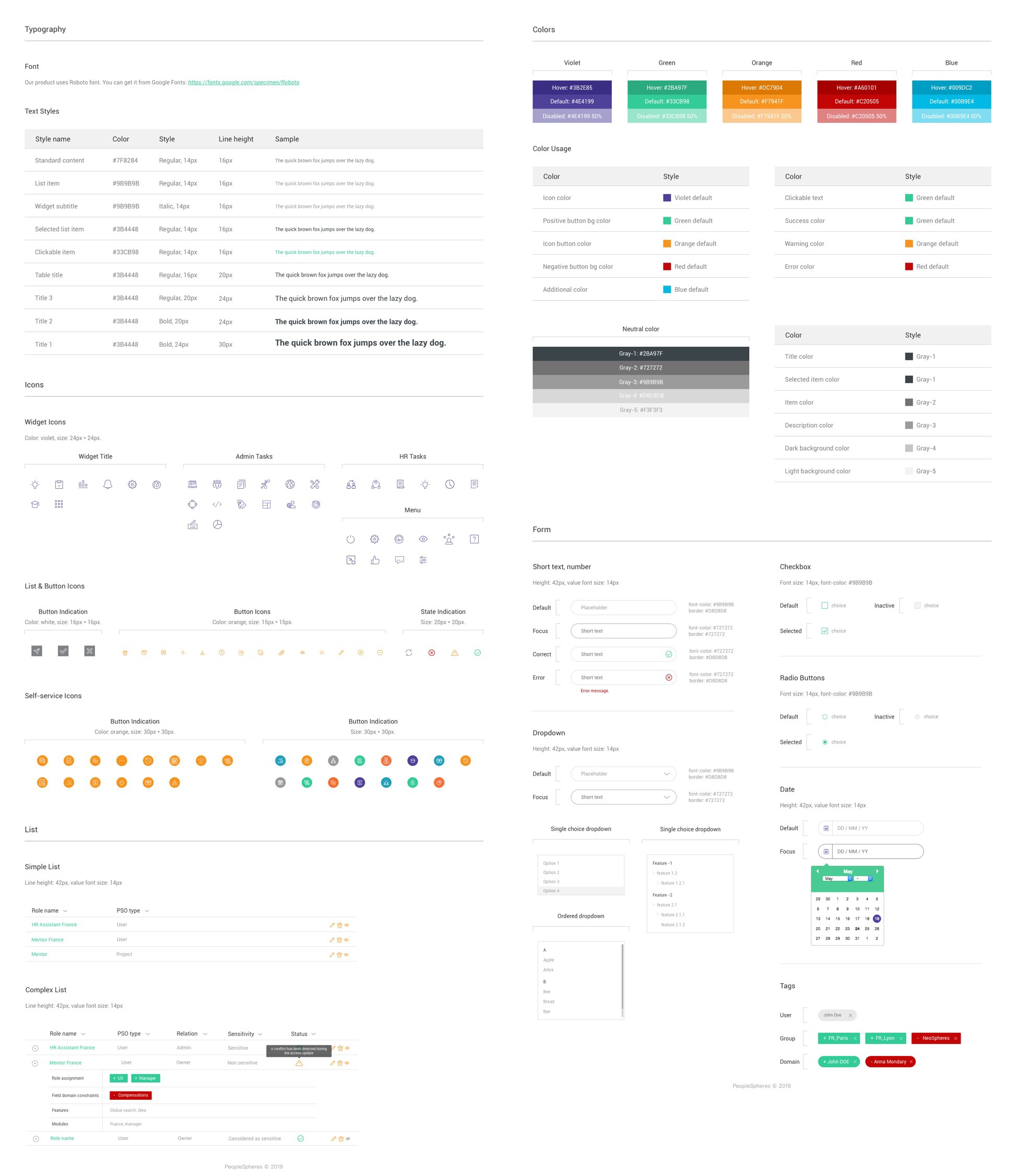 What I Ve Learned From Designing An Hr System A Ux Case Study By Yifan Ding Ux Collective