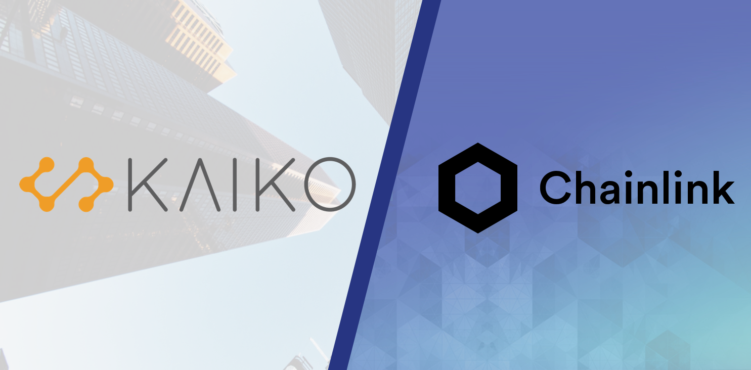 Kaiko becomes official node operator and data provider for