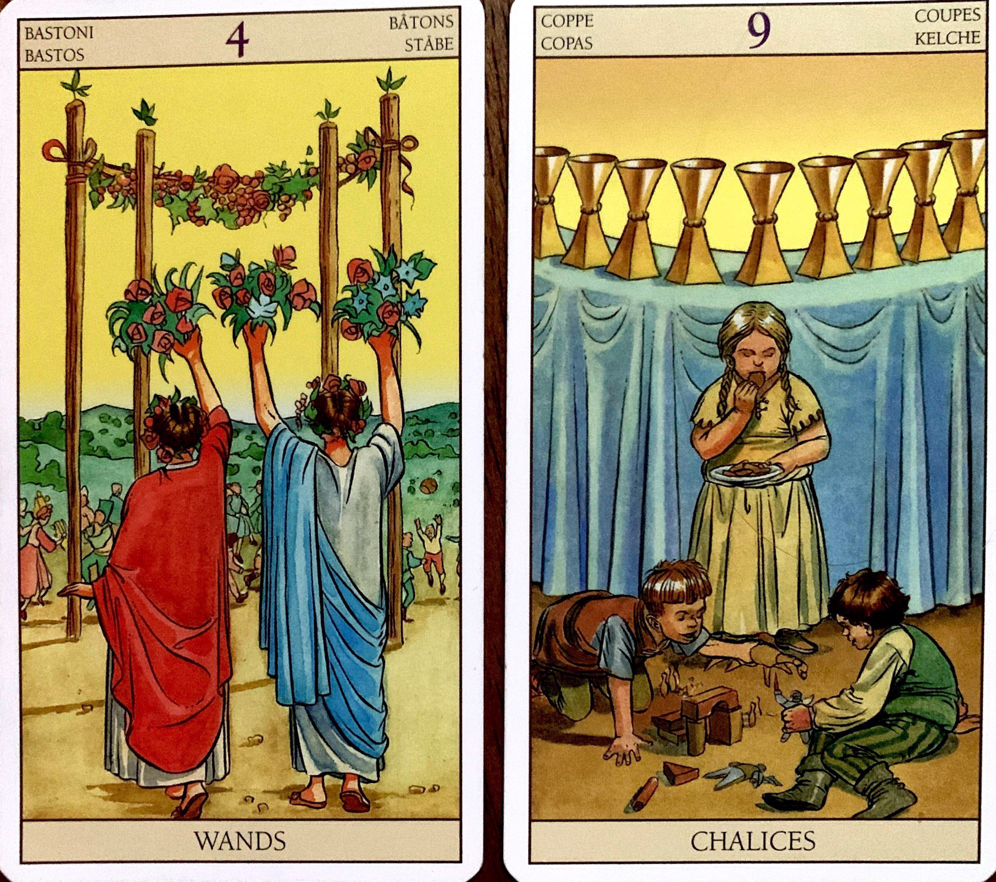 Tarot Combinations Meanings 10 Of Pentacles 4 Of Wands 9 Of By Heather Cristia Medium The six of cups and ten of pentacles is telling you that the key to success and prosperity isn't chasing the latest business idea, or going after the job that pays the most. tarot combinations meanings 10 of