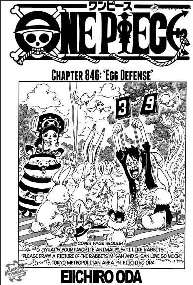 Have You Read One Piece Chapter 846 In Zingbox By Cathryn Ryn Medium