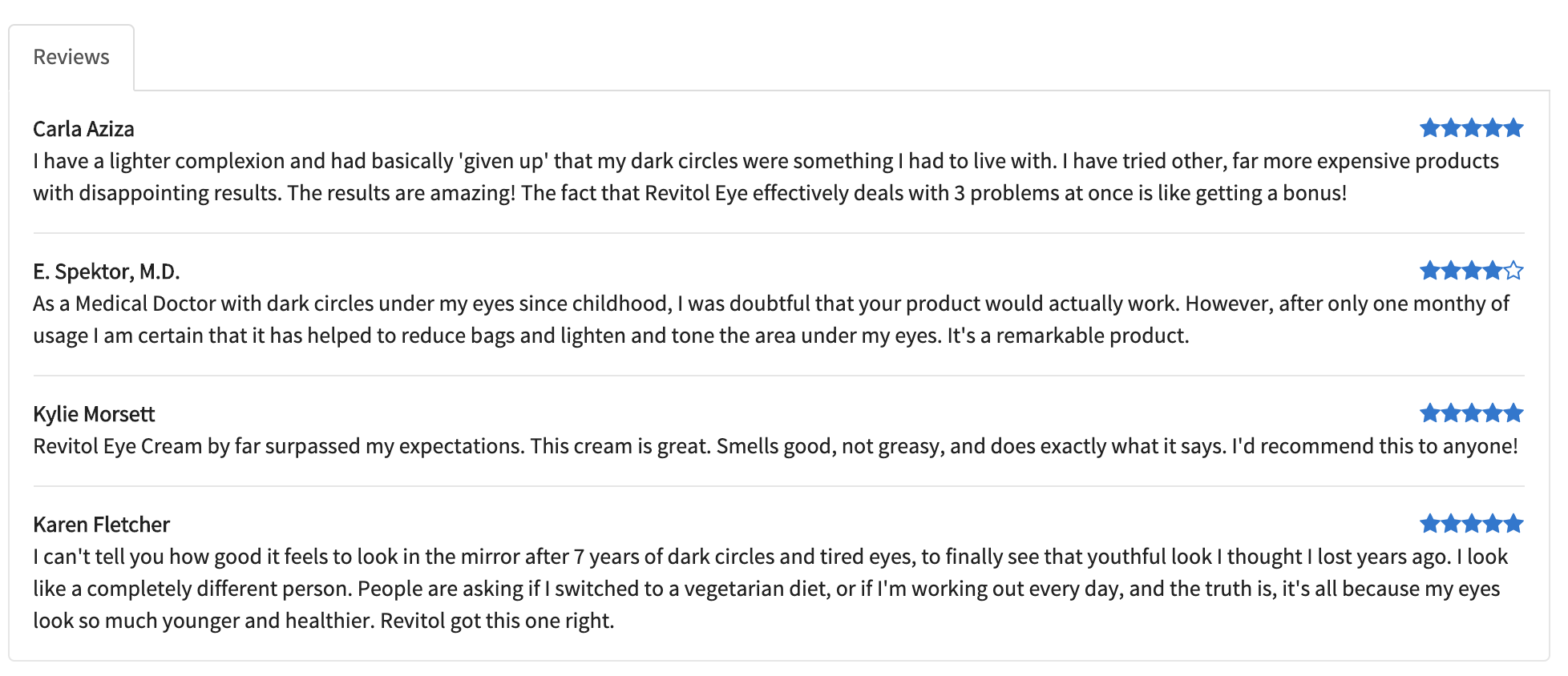 Revitol Eye Cream Review Disclaimer This Article May Contain