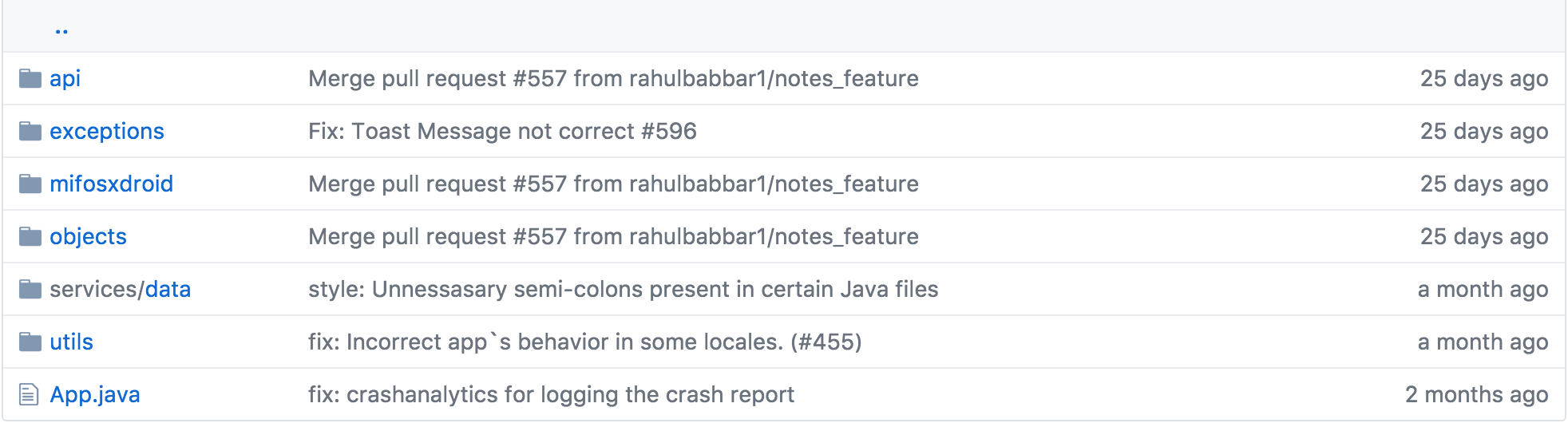 How to navigate through your java projects on Github like a