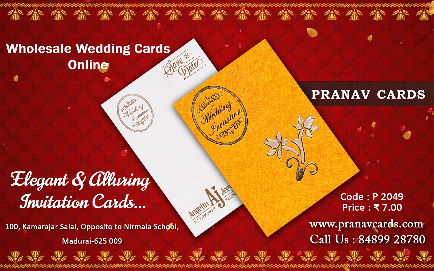 Pranav Cards Modern Wedding Invitations For The Perfect Day