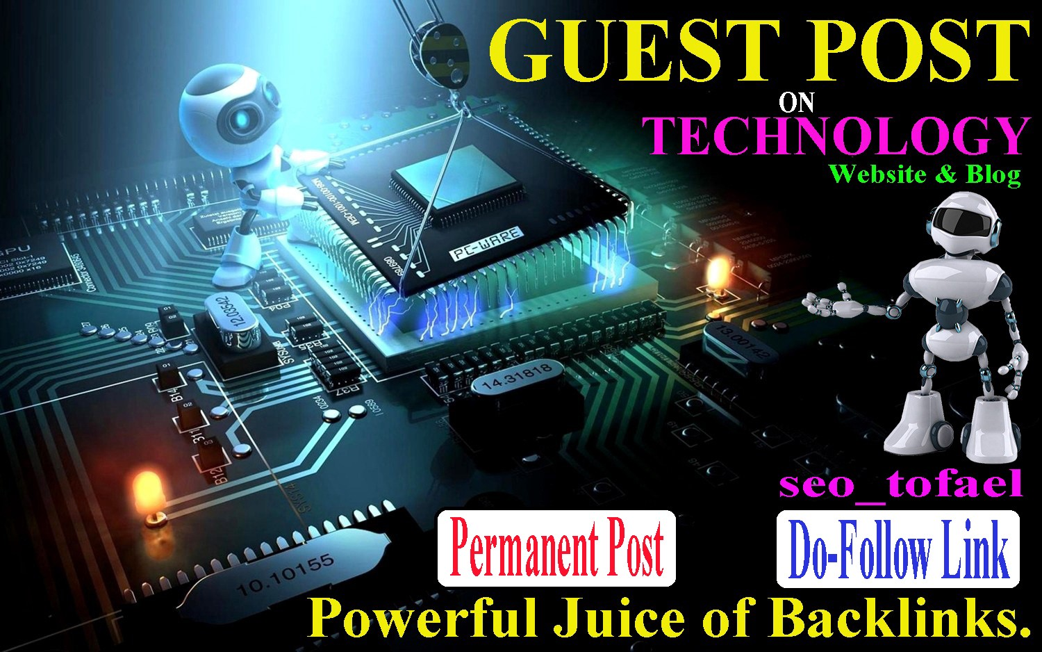 I Will Publish Tech Guest Post On High Authority Tech Website