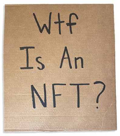 NFTs Get The DudeWithSign Treatment
