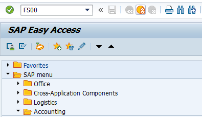 SAP FI — GL Account in SAP : Create, Display, Block & Delete