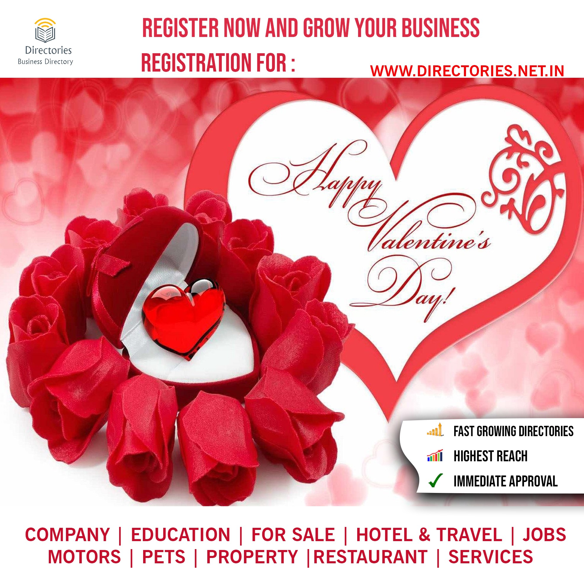 Happy Valentines Day Register Now And Grow Your Business By Icore Directories Medium