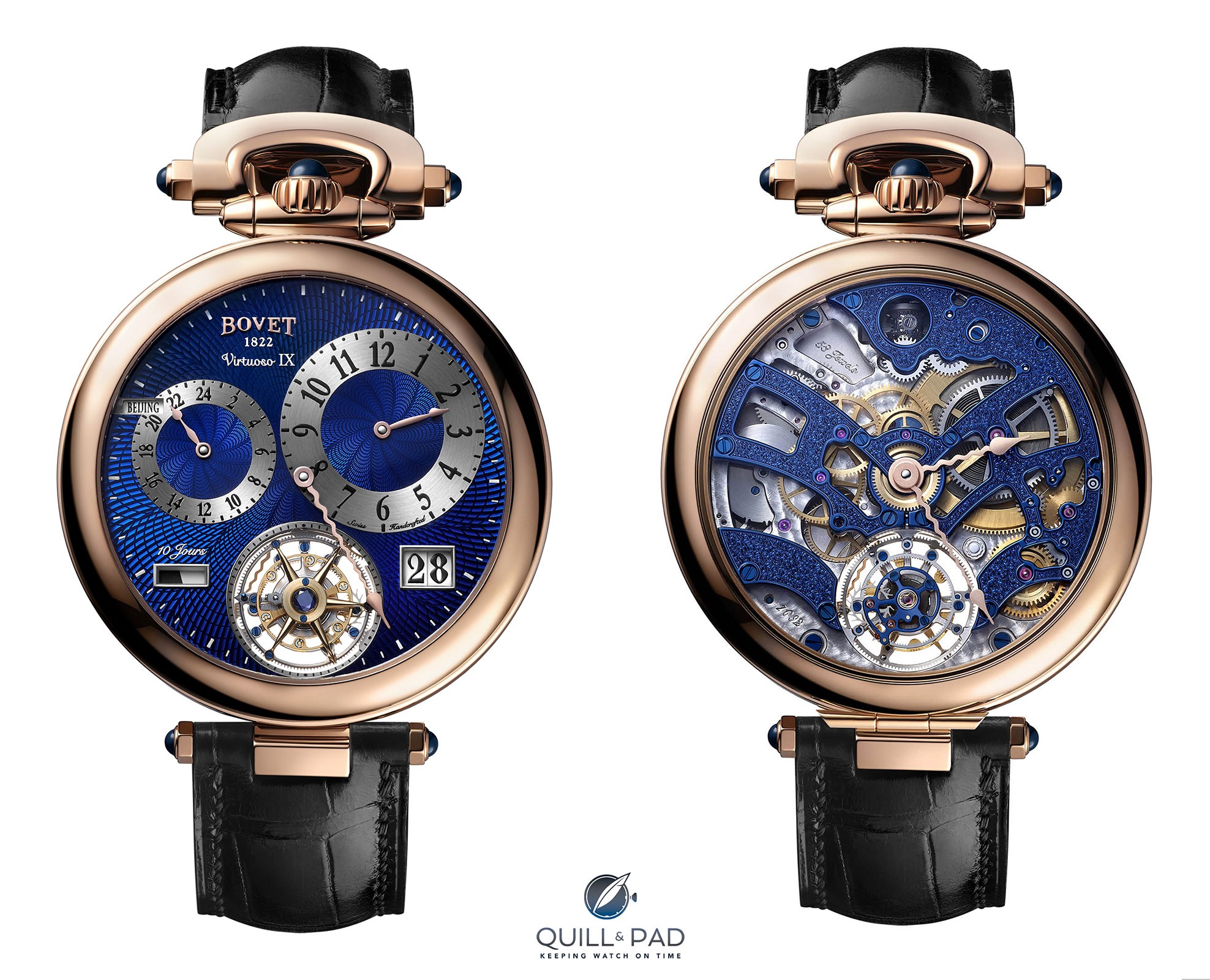 Two faces of the Bovet Virtuoso IX
