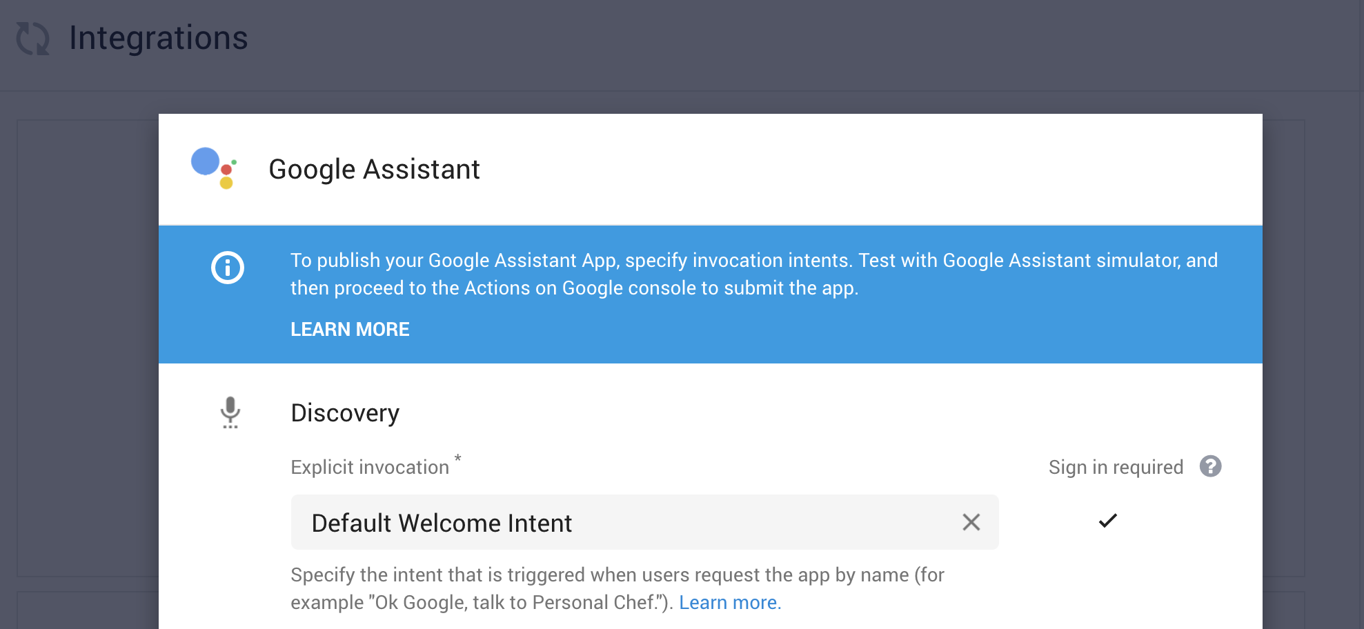 Authenticating users with Actions on Google - Joe Birch - Medium