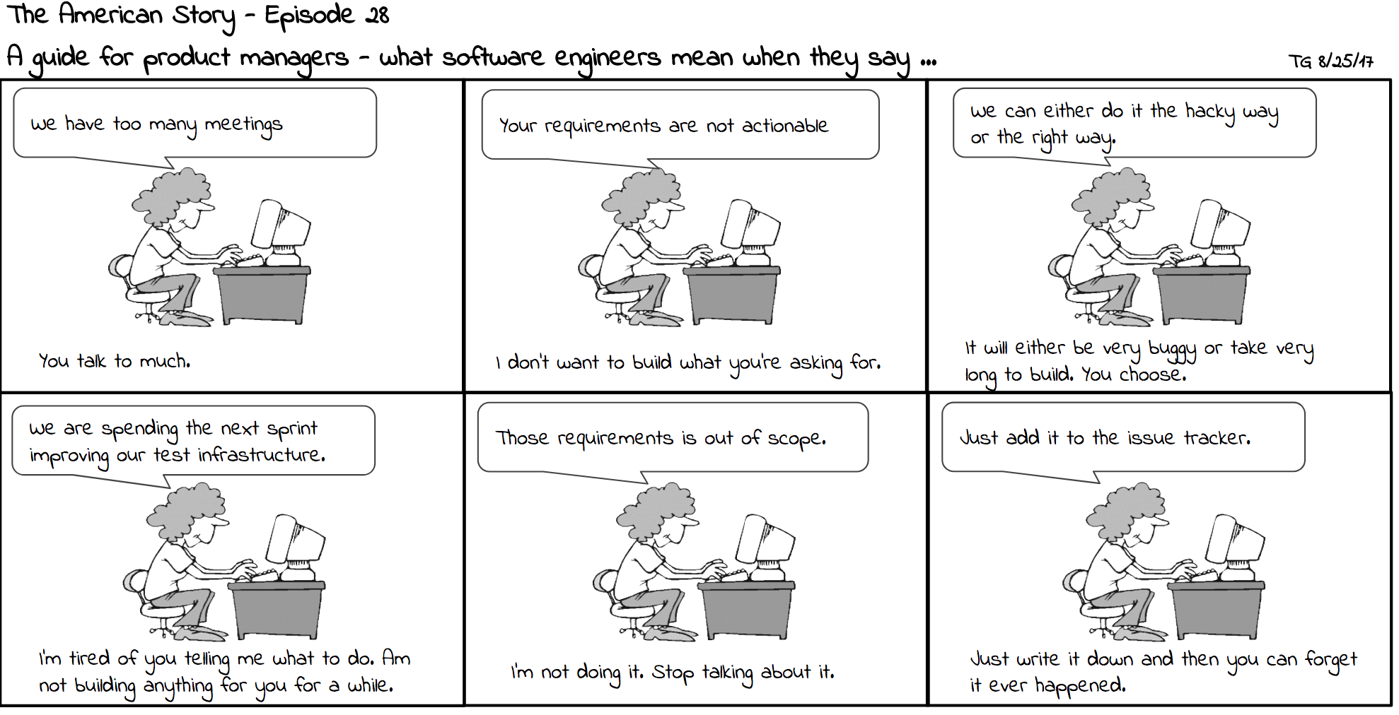 What Software Engineers Do
