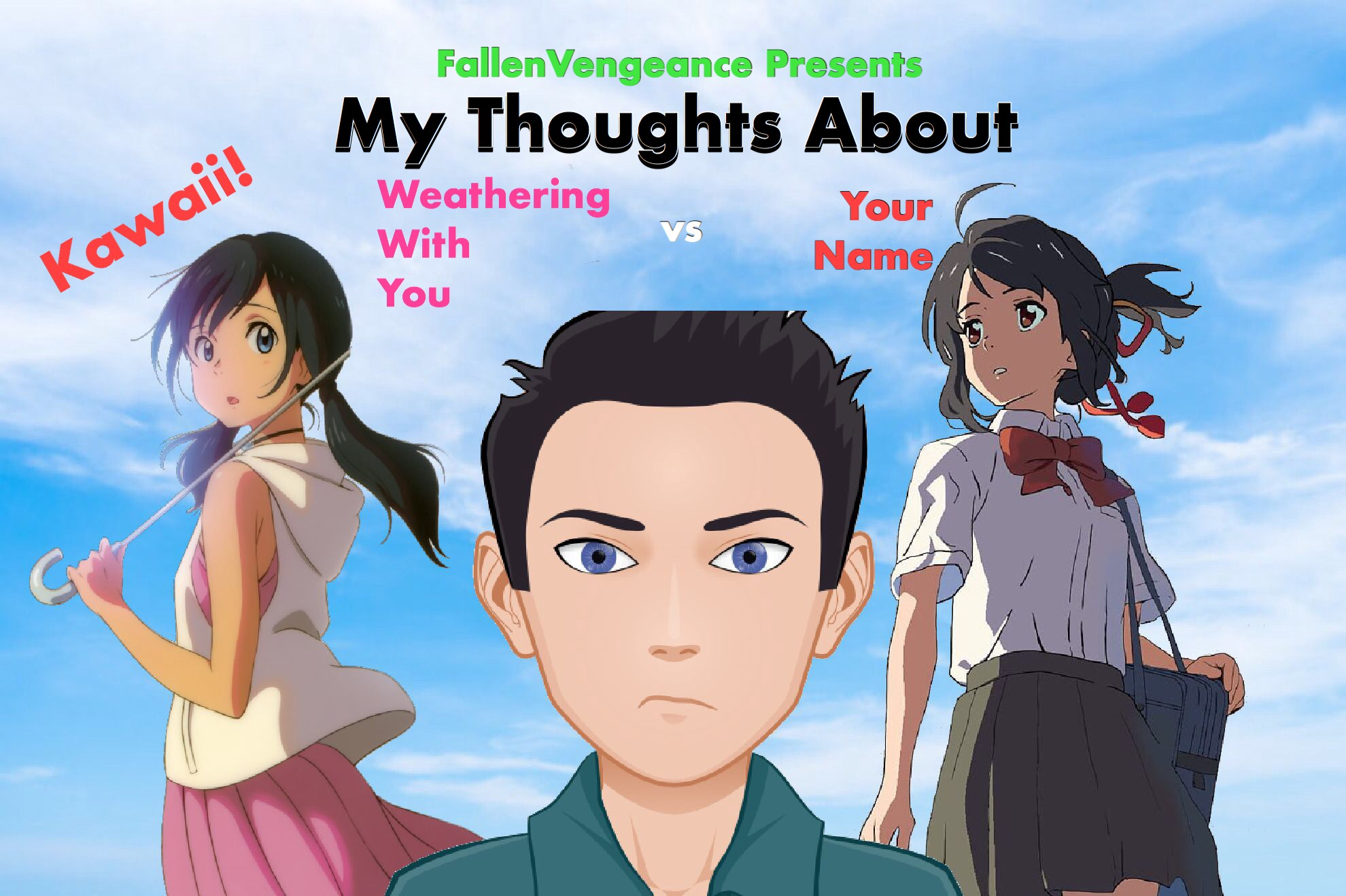 My Thoughts About Your Name Vs Weathering With You Episode 5 By Fallenvengeance My Thoughts About Medium