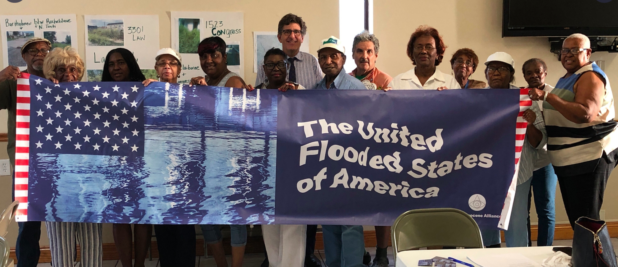 For members The United Flooded States of America, chronic flooding is a political issue, not just a climate issue.