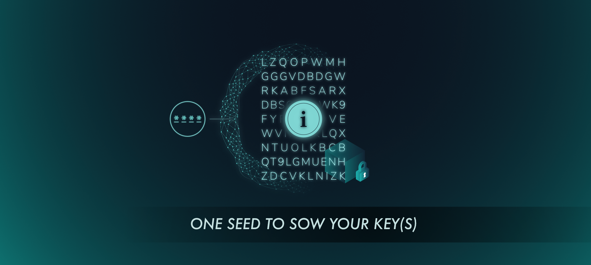One seed to sow your key(s) - IOTA