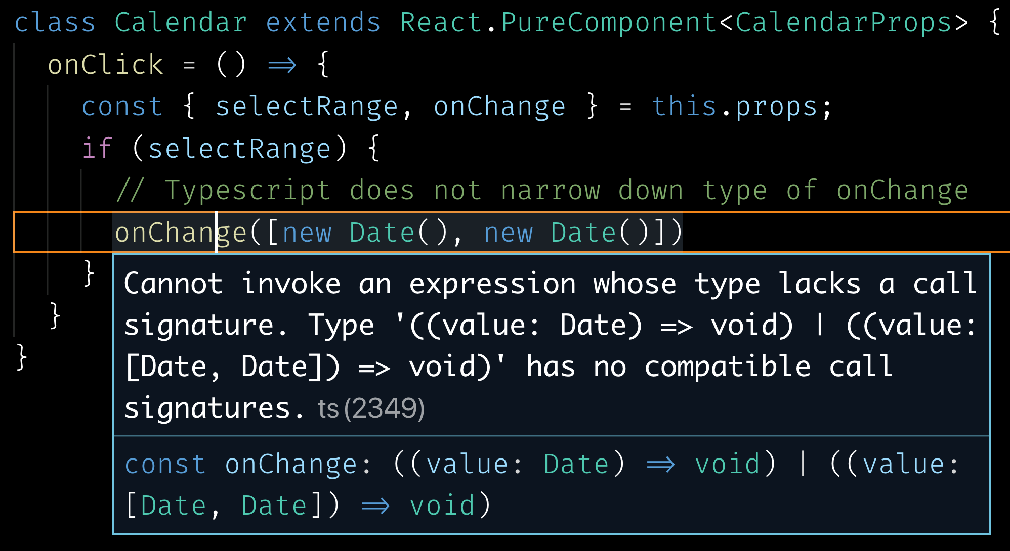 Defining interdependent props in Typescript for React Components