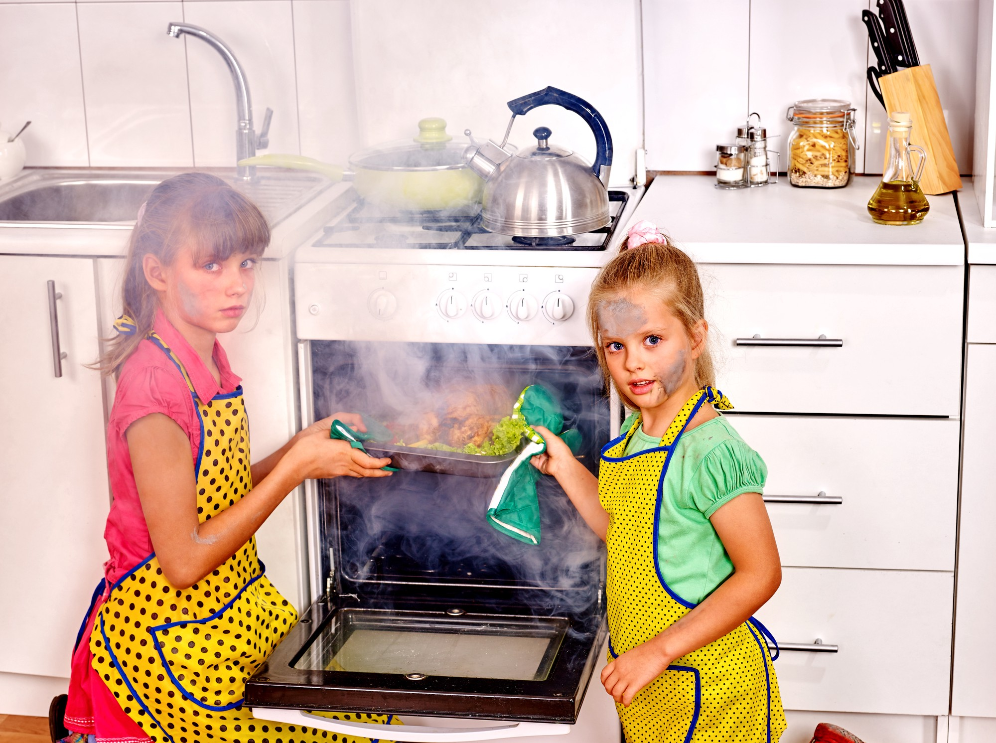 We Nearly Burned The House Down When Our Parents Let Us Stay