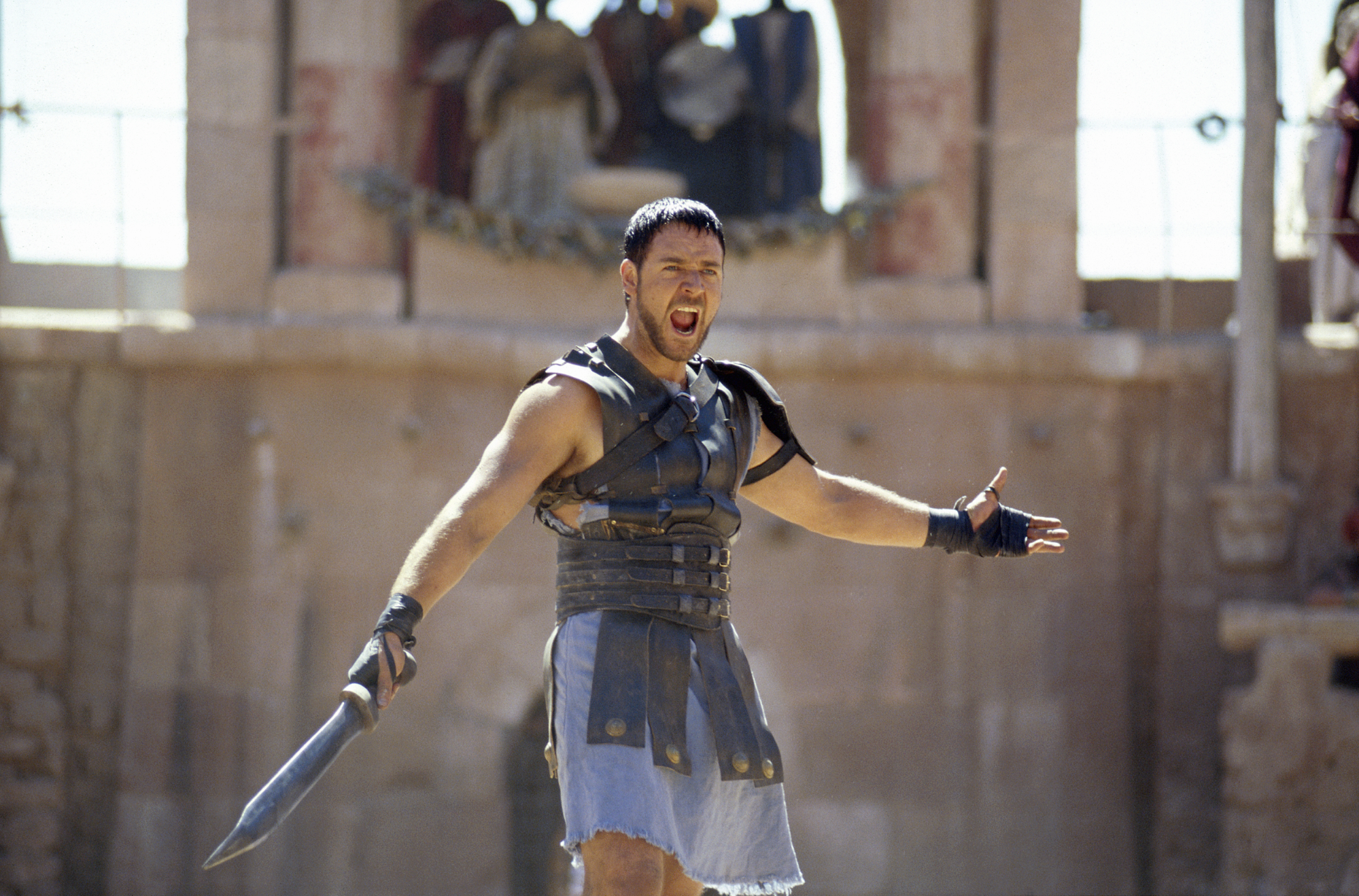 A still from the movie Gladiator.