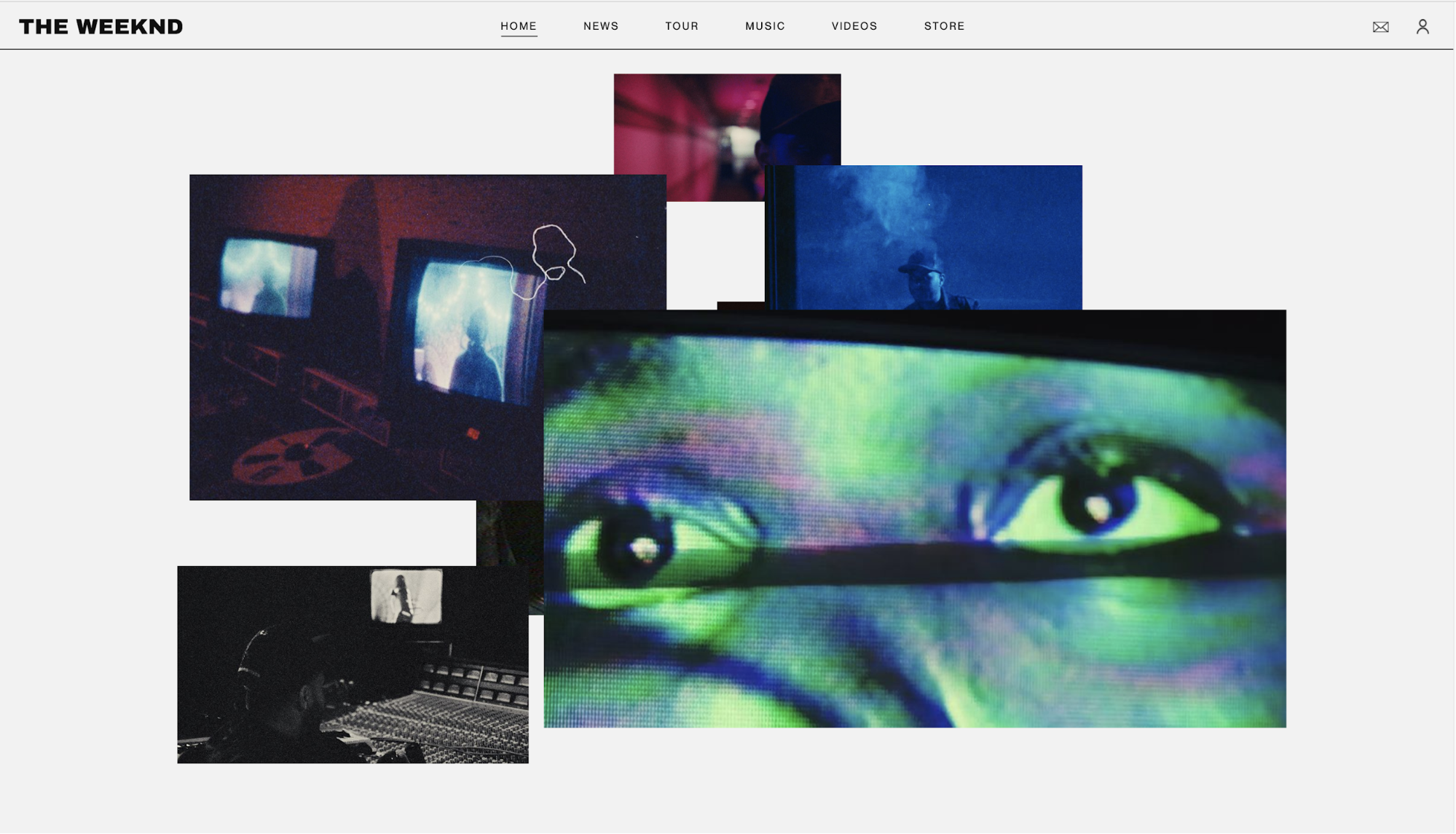 How I would redesign Demi Lovato's website - Prototypr