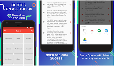 app of the day iquotes tech news recommendations medium