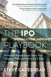 The IPO Playbook by Steve Cakebread