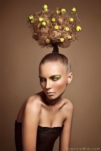 Avant Garde Hairstyles Inspired by Nature - Robin Vinz ...