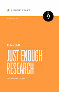Just Enough Research second edition cover