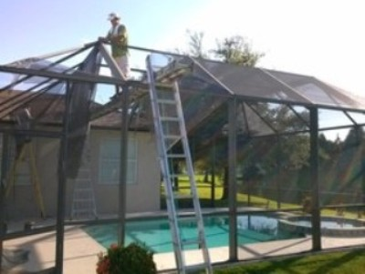 How To Know When A Pool Rescreening Is Needed By Screen Enclosures Tampa Fl Medium