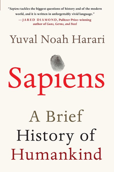 Book notes #6- Sapiens - arteeninLA