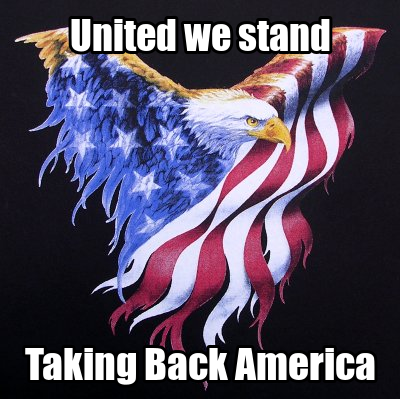 It is Time to Take Back America