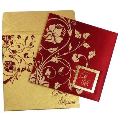 Indian Wedding Invitation Card A Ritual Or A Need
