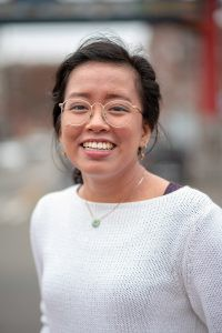 Carmen Hom will write about the East Indian community. Photo by Auriza Ugalino.