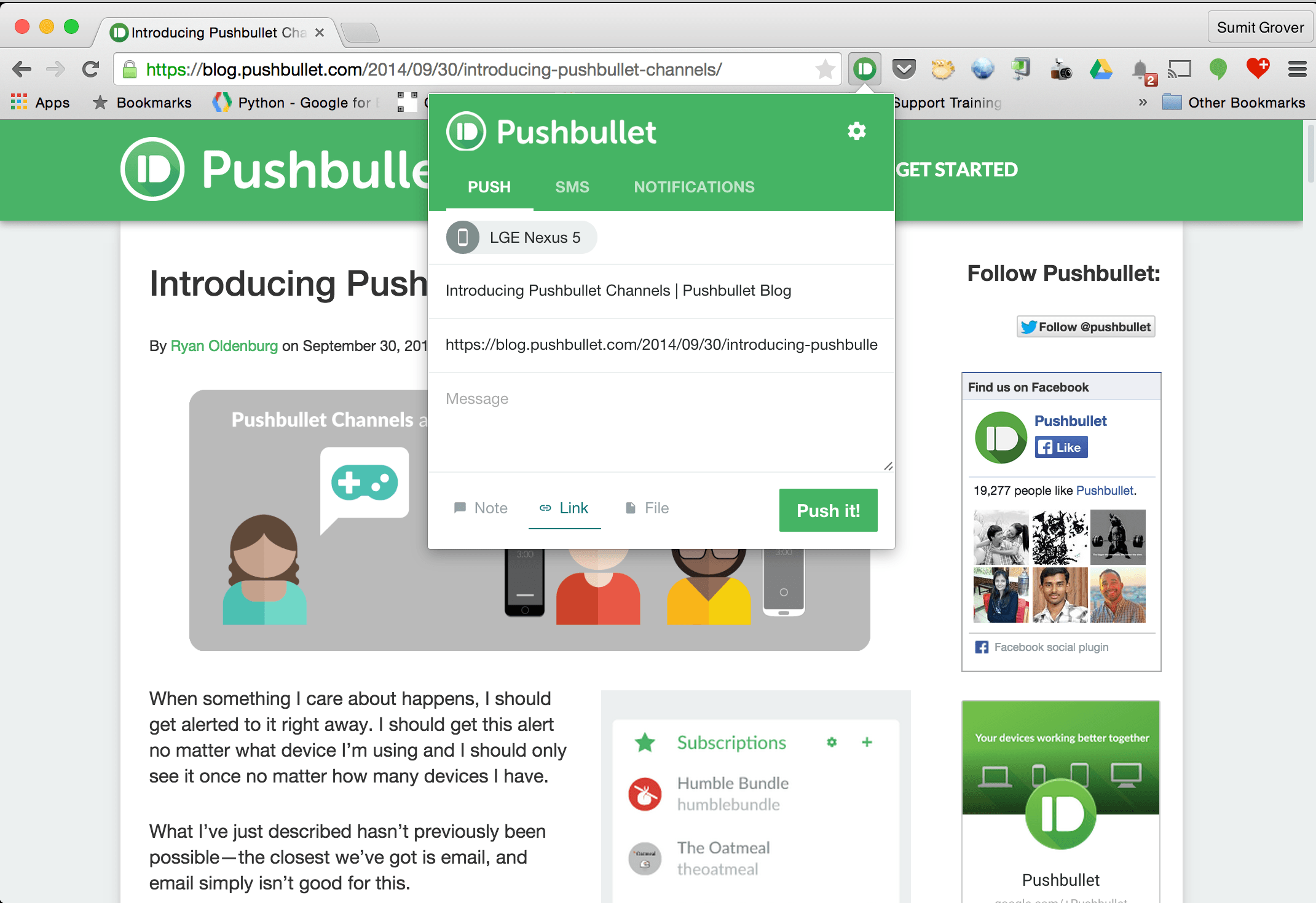 Pushbullet - Reviews on Top