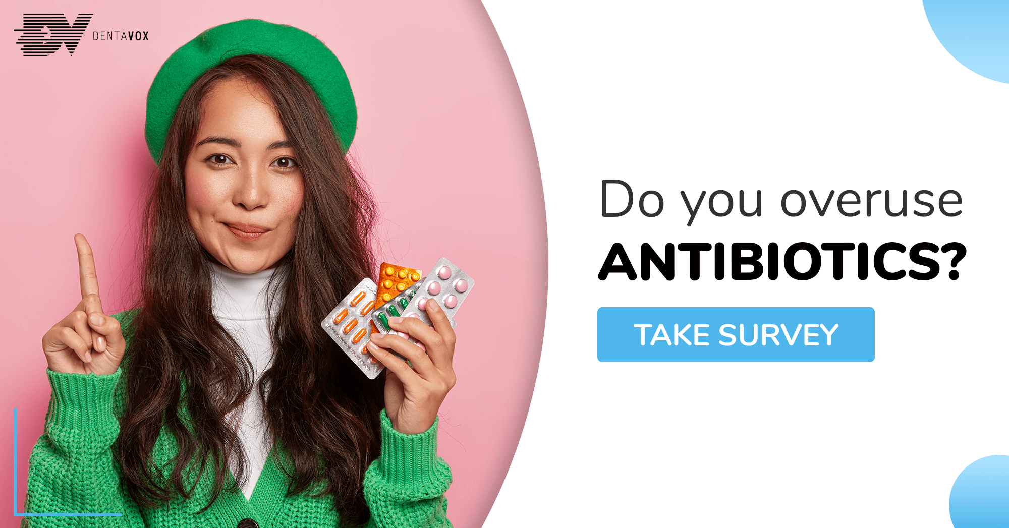 Dentavox paid surveys antibiotic resistance soc