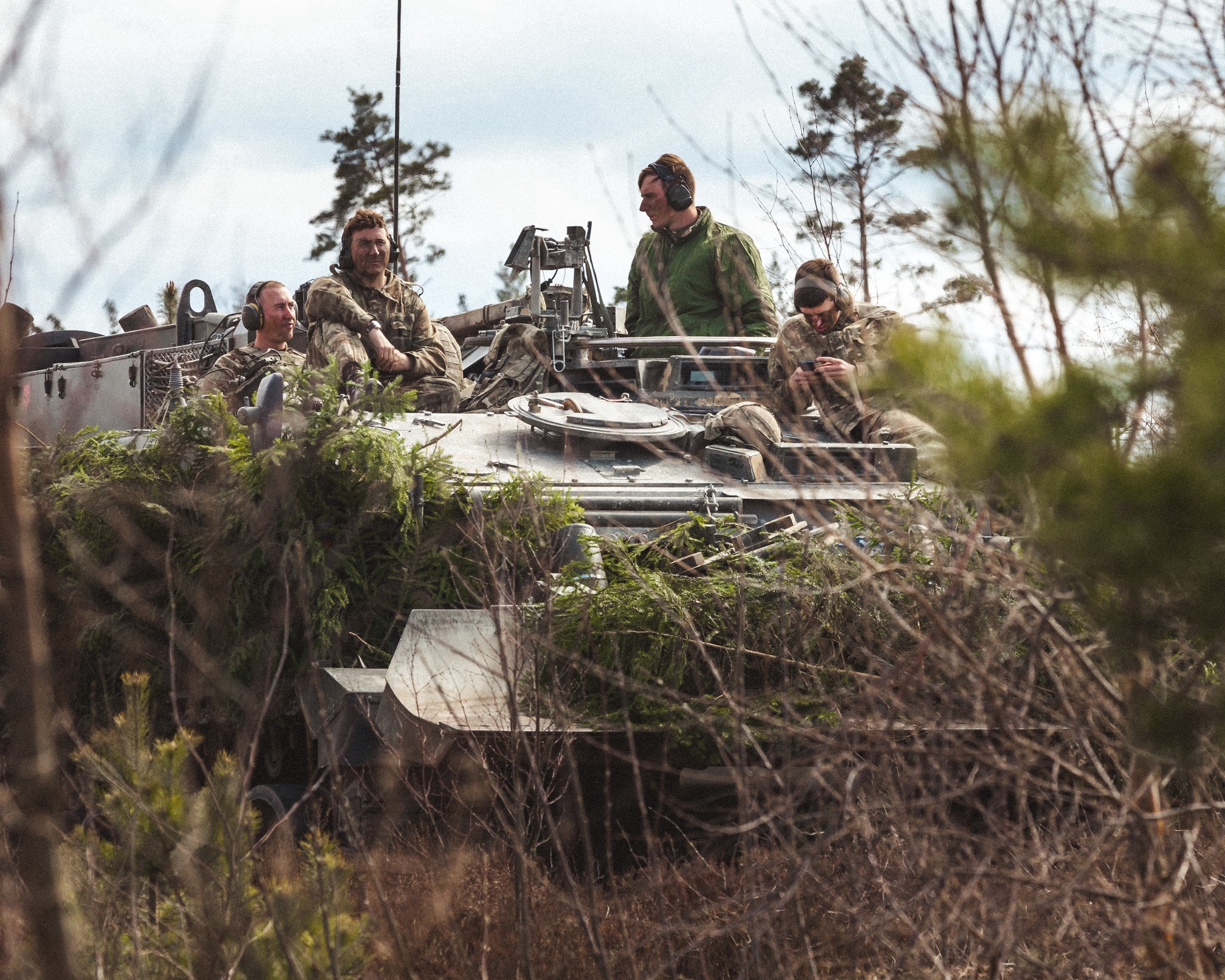 NATO's Enhanced Forward Presence Battlegroup Estonia Participated in Modified Exercise Spring Storm