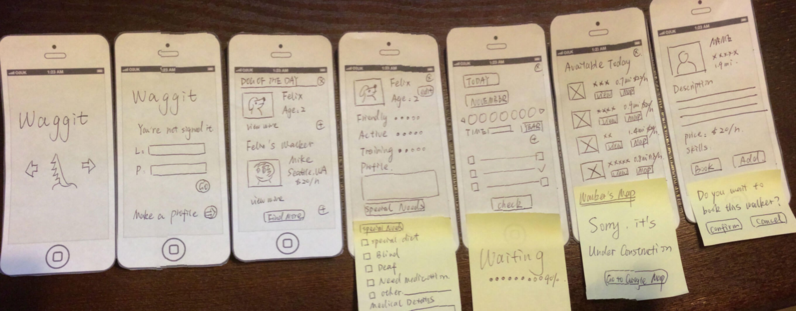 A paper interface prototype
