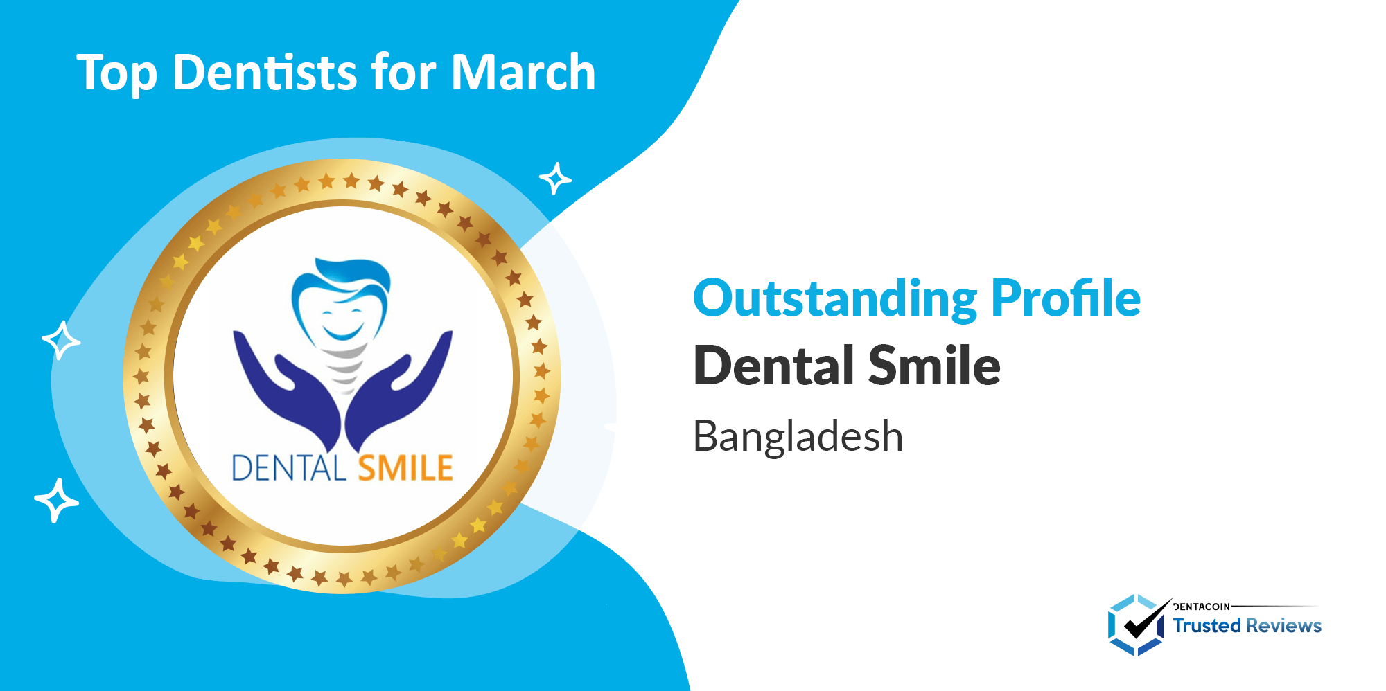 3.March Dentist of the month 2021 Twitter