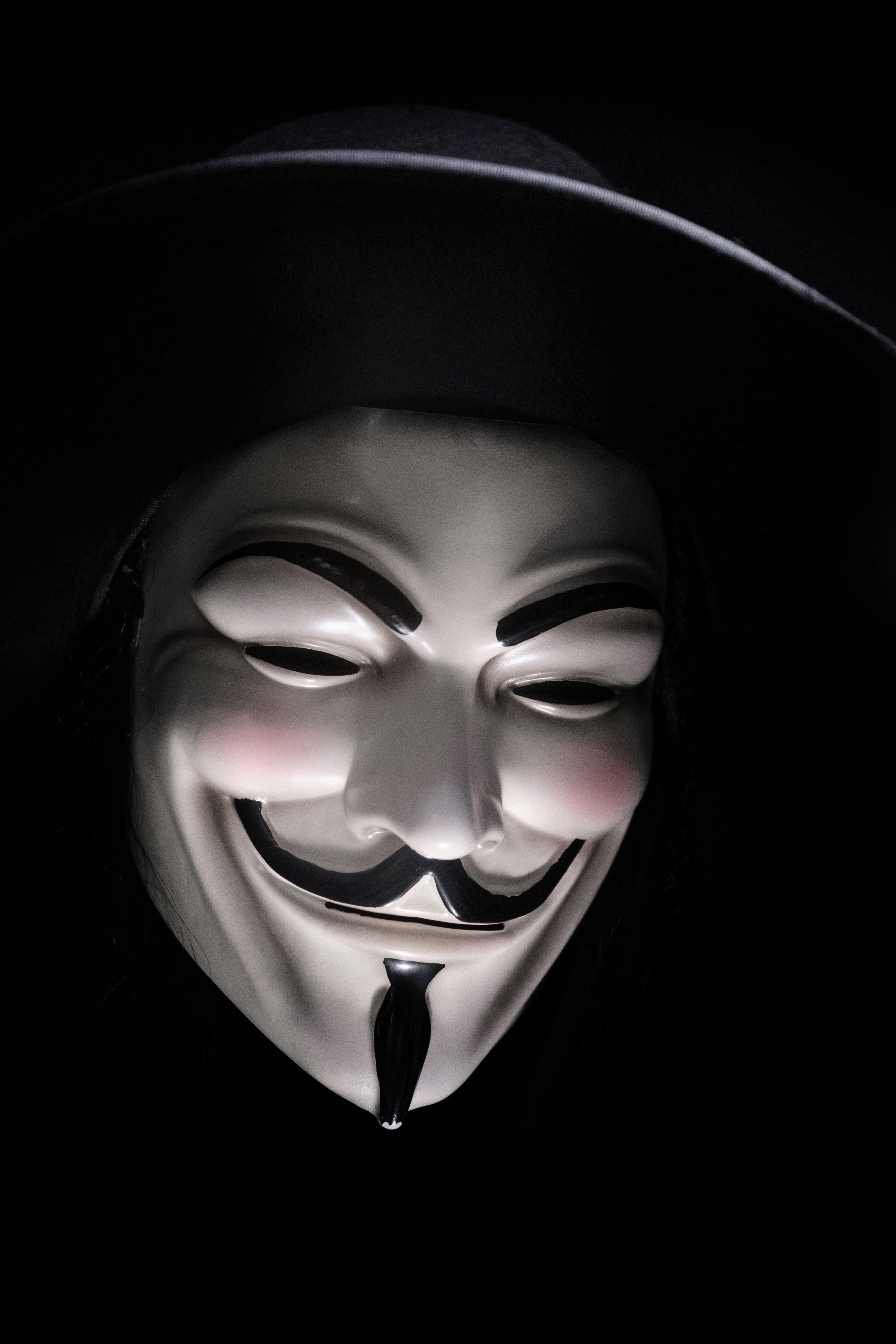 Guy Fawkes Mask of a mind map