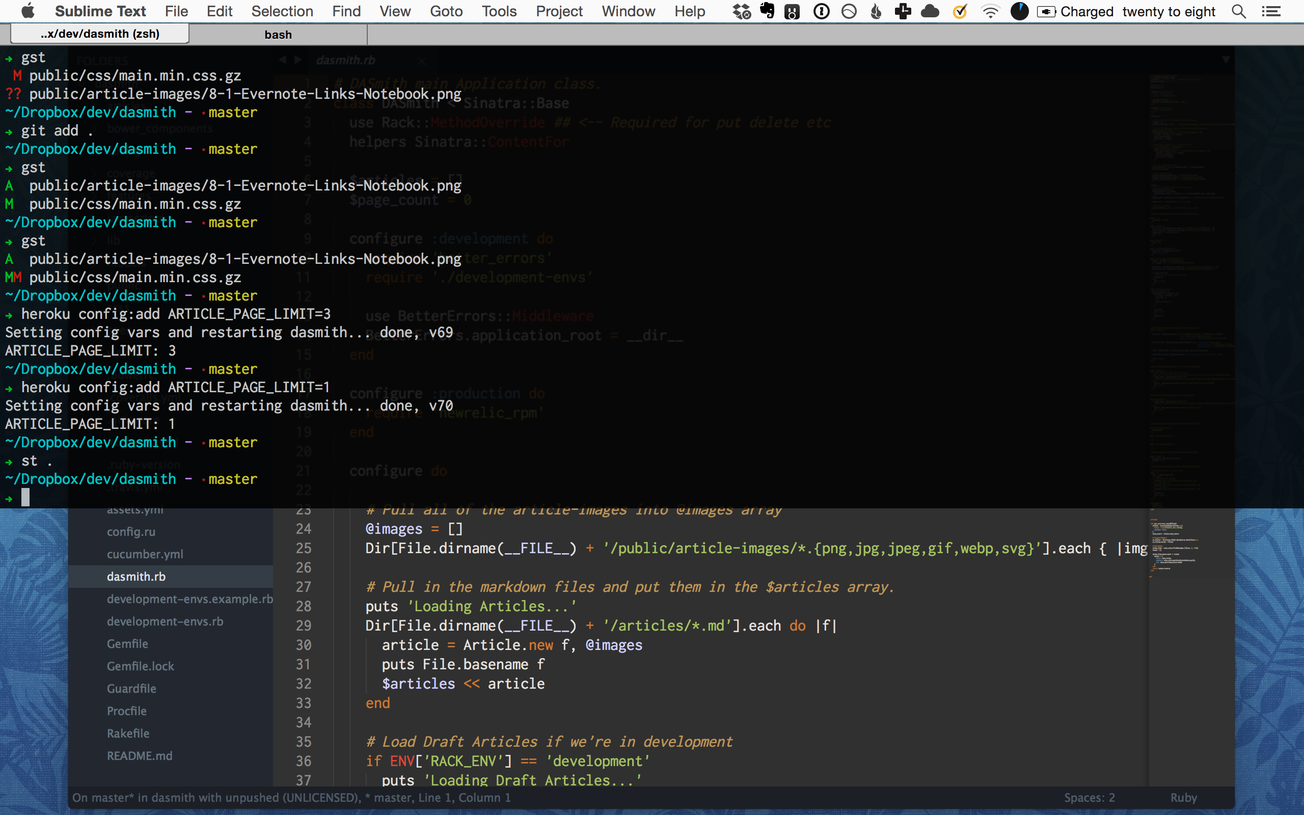 Replacing Bash with ZSH on OSX - rootpath - Medium
