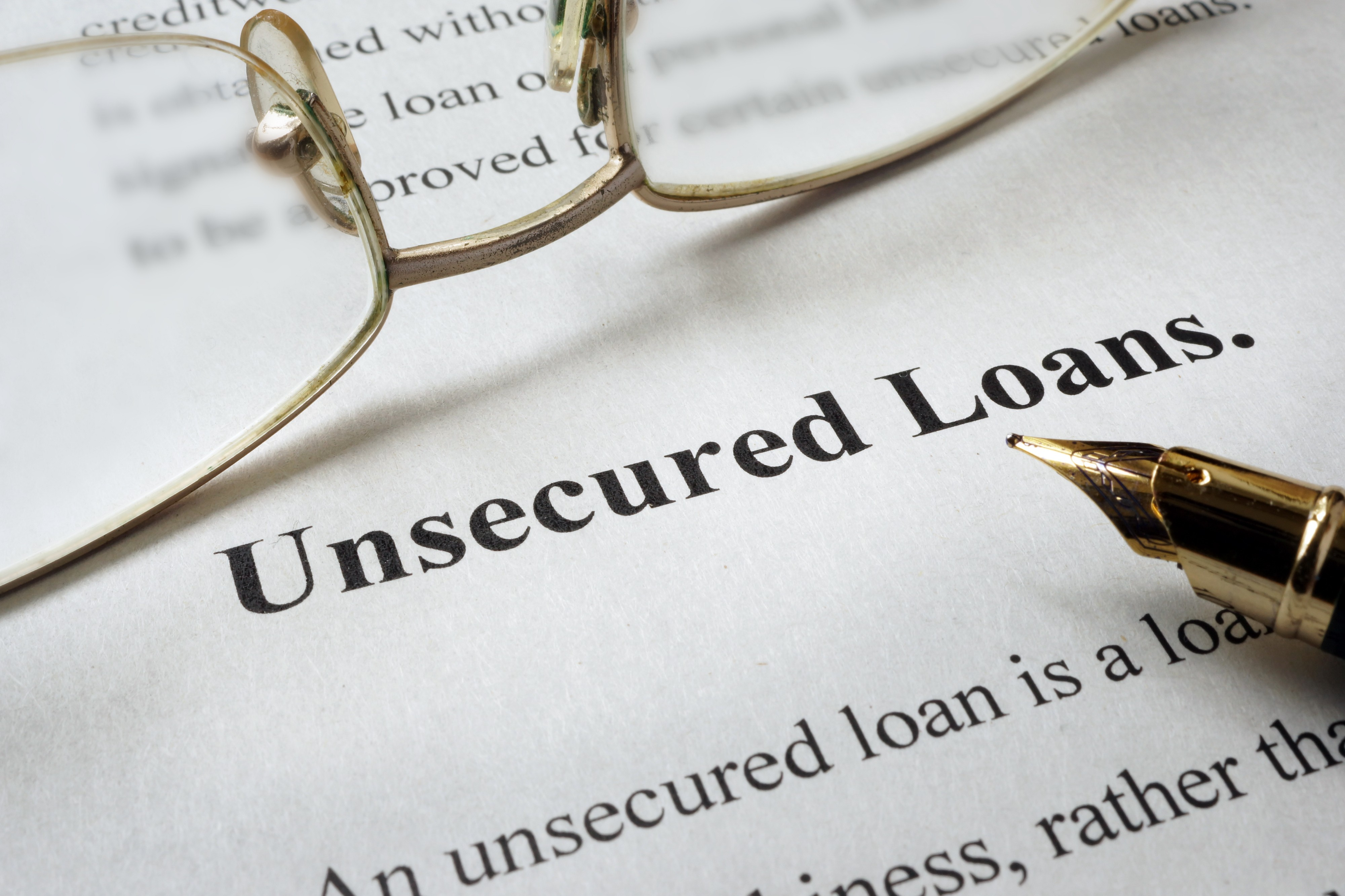 Applying for an unsecured loan is tough when you have poor credit