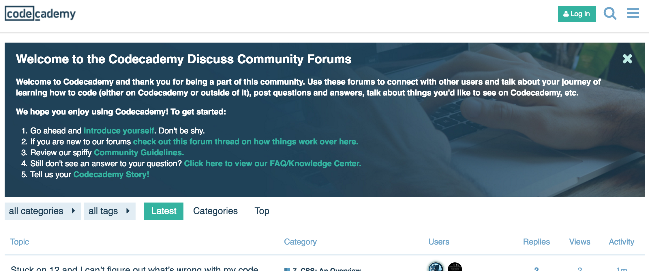 Customizing a Discourse Forum for noncoders and designers