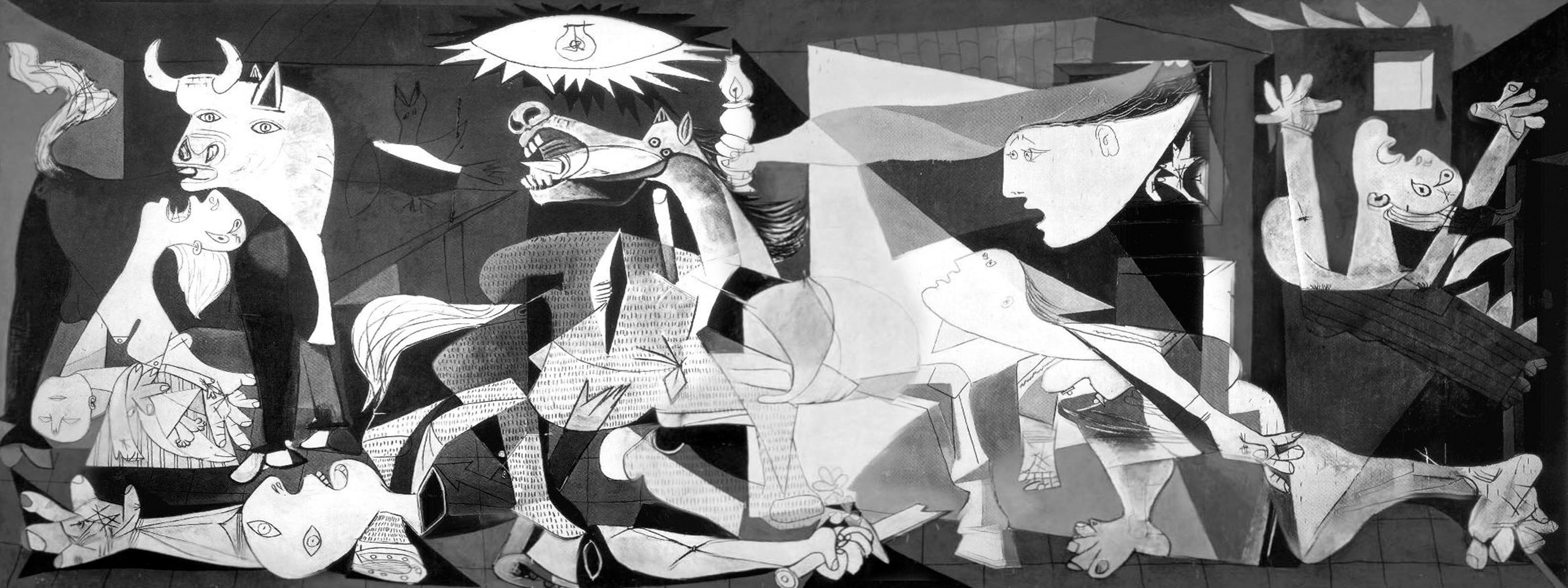 One of Picasso's best known works, Guernica is regarded by many art critics as one of the most moving and powerful anti-war